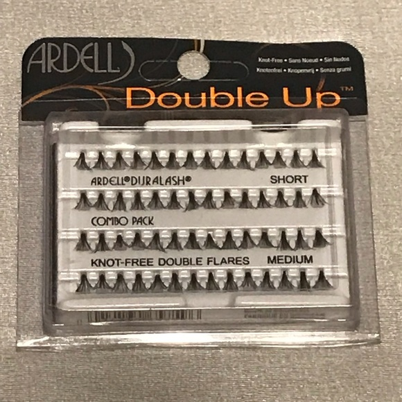 bcaac78c6 🆕 ARDELL DOUBLE UP INDIVIDUAL LASHES . NWT